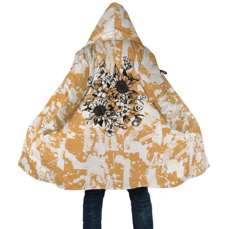 Sunflower AOP Cloak - Wonder Hippie Official