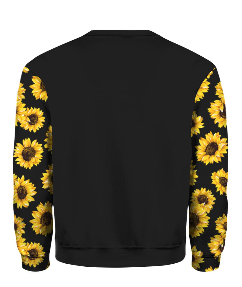 In A World Full Of Roses Be A Sunflower sweatshirt
