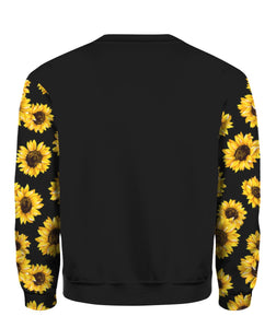 Be A Nana Sunflower Full Printed sweatshirt