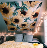 Sunflower Wall Decorative Tapestries Colorful - Wonder Hippie Official