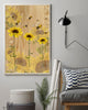 Faith Hope Love Chris Jesus Bee Sunflower Poster 16x24""