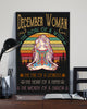 December Woman The Soul Of A Witch Hippie Poster 16x24""