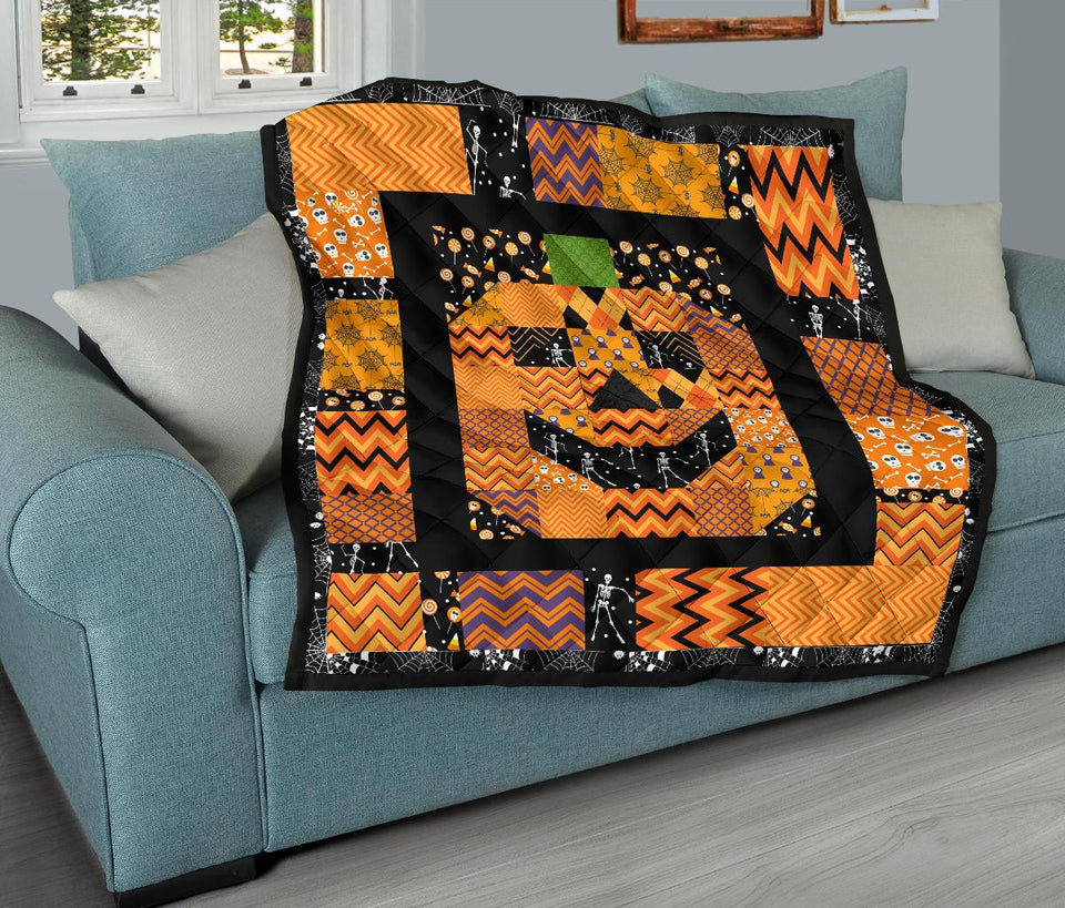 Pumpkin Halloween Quilt - Wonder Hippie Official