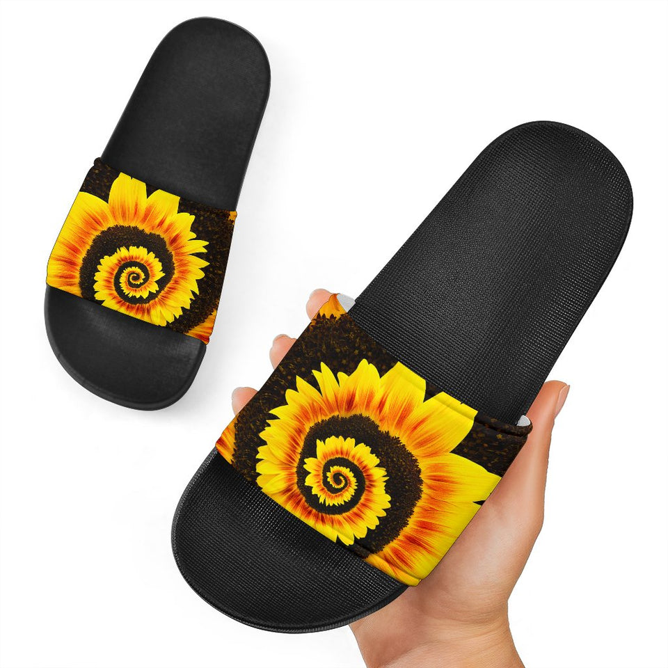 Twisted Tornado Sunflower Slide Sandals - Wonder Hippie Official