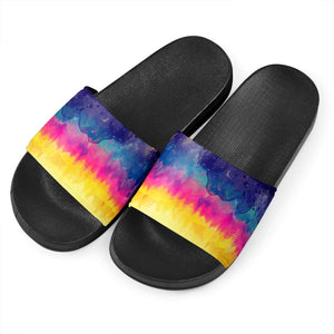 Color Tie Dye Slide Sandals - Wonder Hippie Official