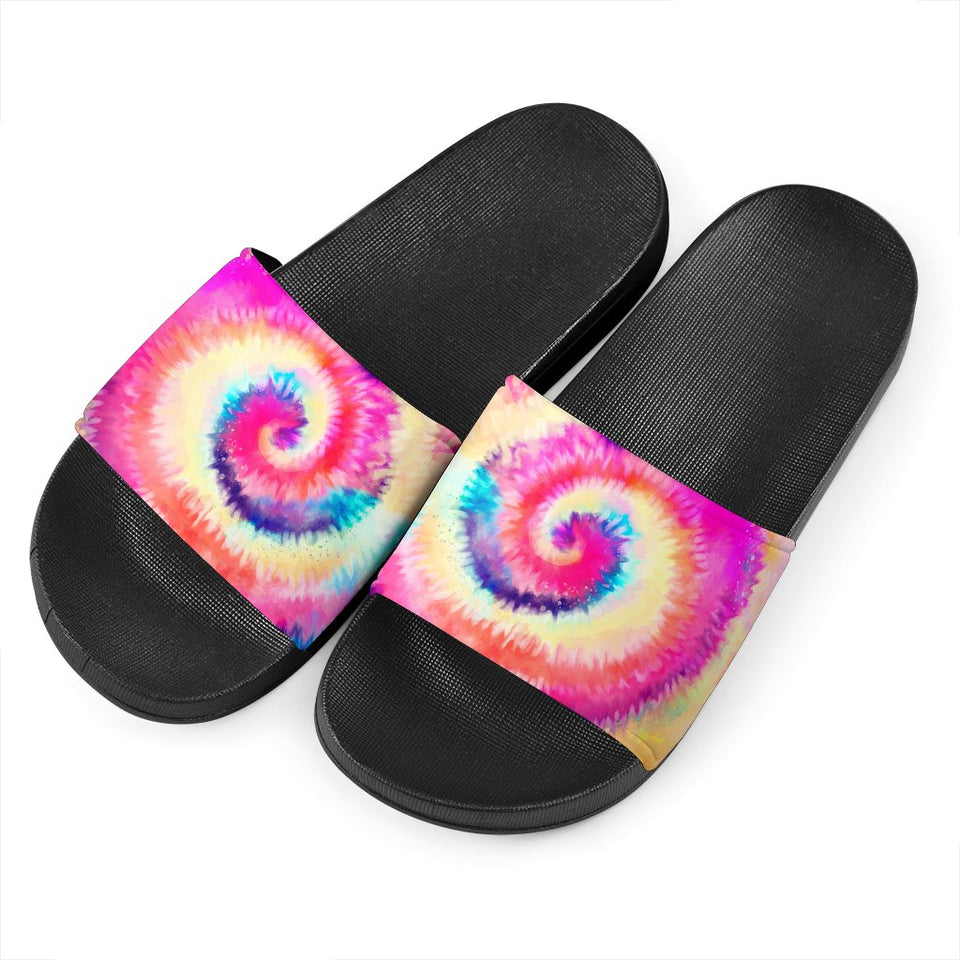 Colorfull Tie Dye Slide Sandals - Wonder Hippie Official