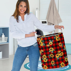 Sunflower Caro Laundry Basket