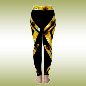 Combo Flag Sunflower Tank Top + Pant Sport Outfit