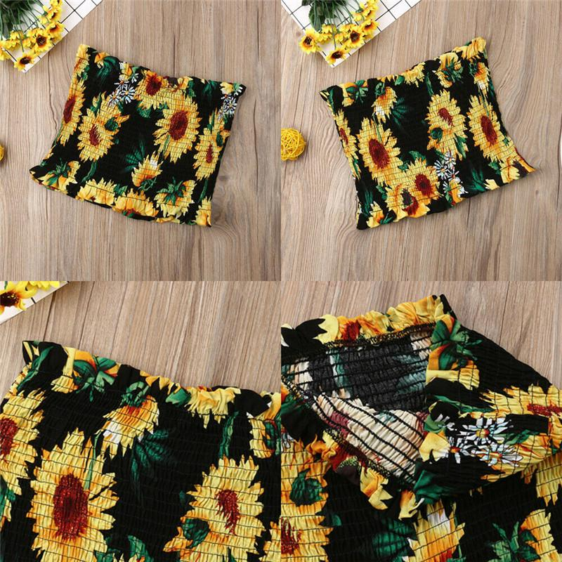 Sunflower Tube Top - Wonder Hippie Official