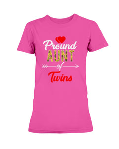 Pround Aunt of Twins  T-shirt & Hoodie