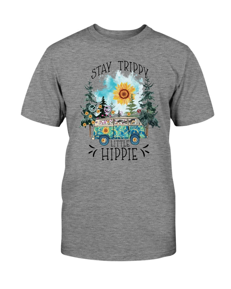 Stay trippy little hippie sunflower bus T-shirt & Hoodie