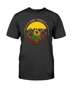 I hate people sunflower hippie  T-shirt & Hoodie