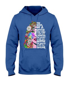 The Soul of a Witch Hippie Boho T-shirt & Hoodie