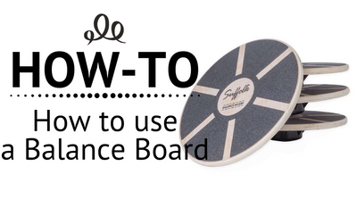 How to use a balance board
