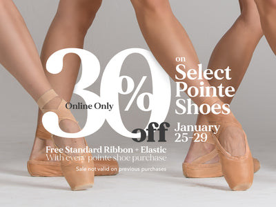 Pointe Shoe Sale