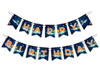 "Space Solar System ""Happy Birthday"" Party Banner"