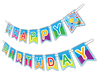 "Super Science ""Happy Birthday"" Party Banner"