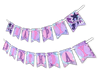 "Mermaid ""Happy Birthday"" Party Banner"