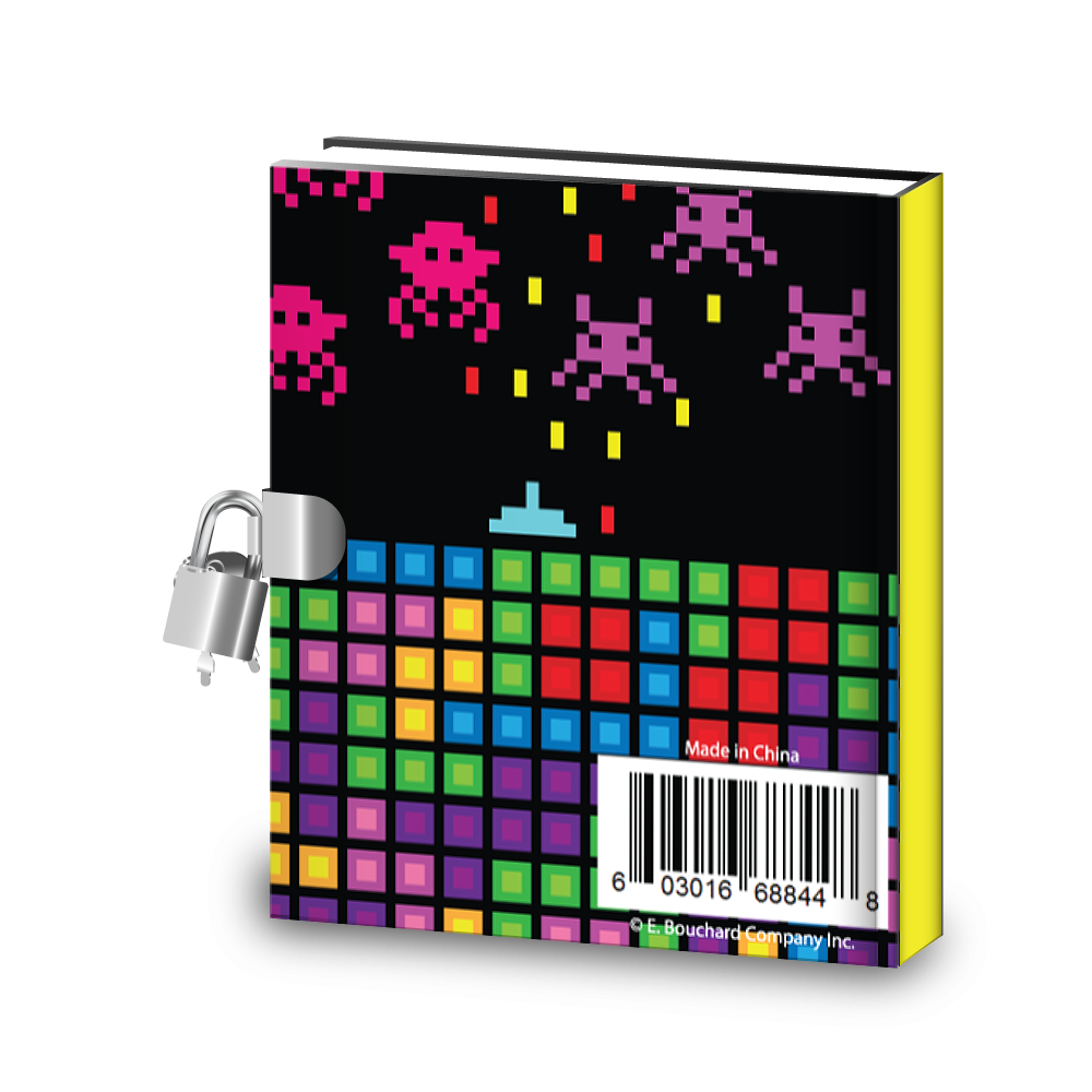 Gift Idea: Video Gamer Game On Kids Diary With Lock