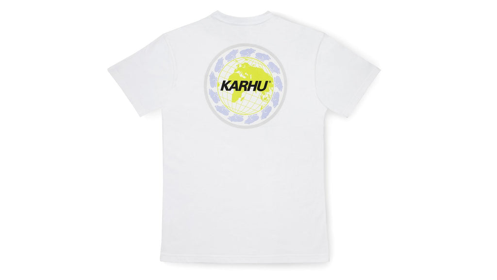 Karhu, Worldwide T-shirt - White/Black - Alava Shop