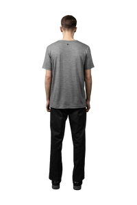 Merino t-shirt, Light Grey