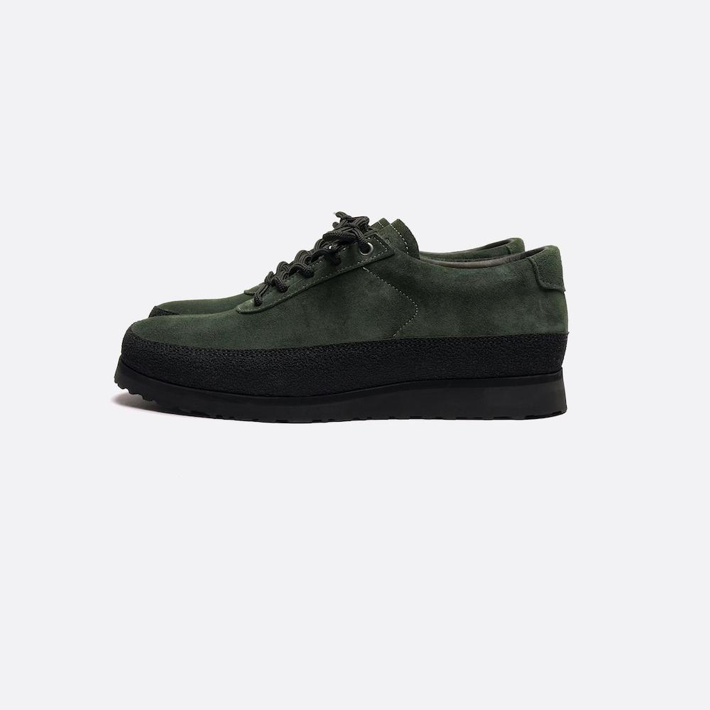 Tarvas Footwear, Explorer -Dark Green Suede - Alava Shop
