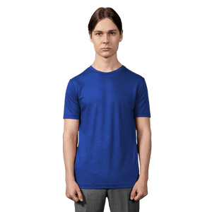 Merino T-shirt Electric blue