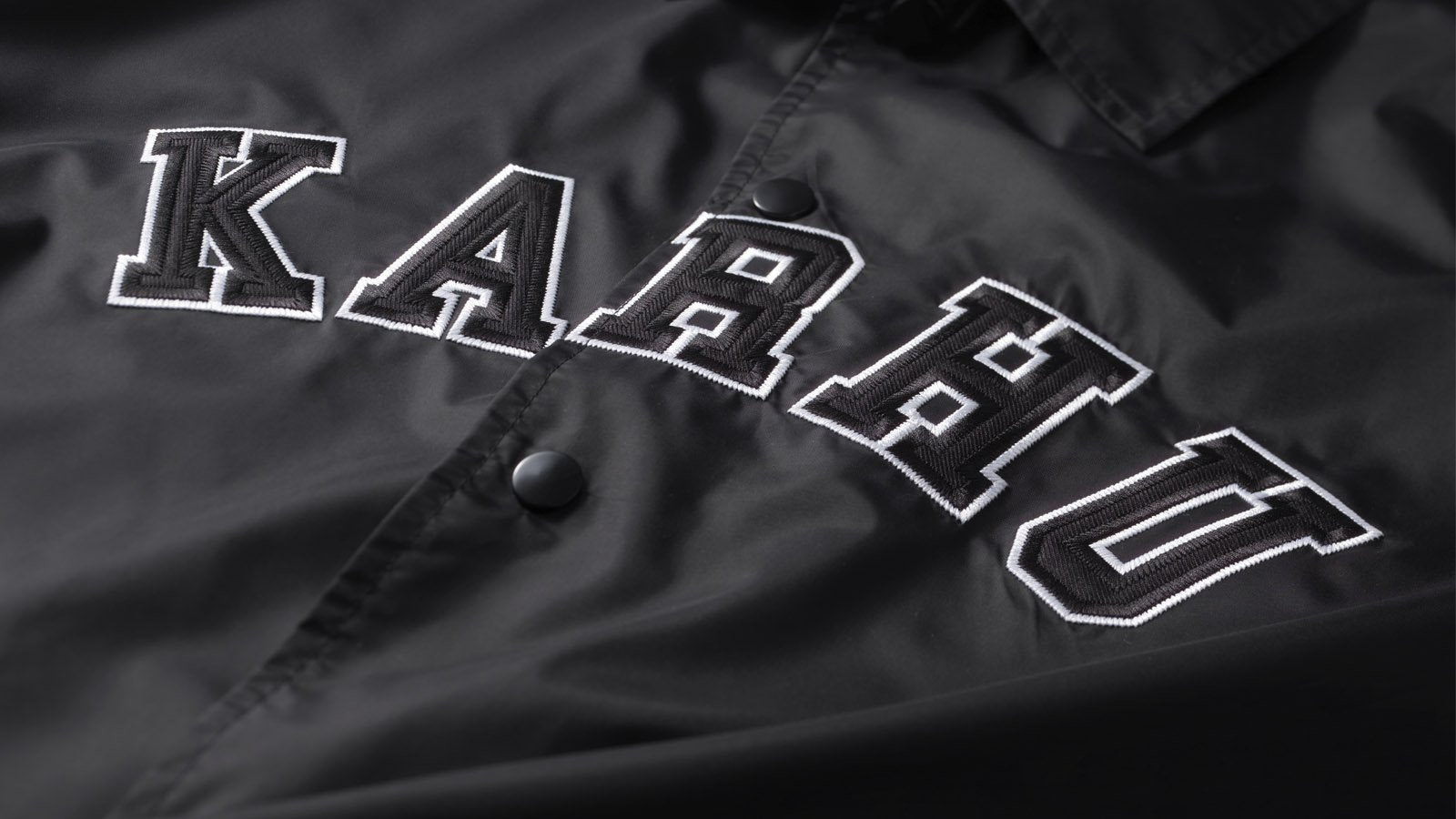 Worldwide Coach Jacket - Black