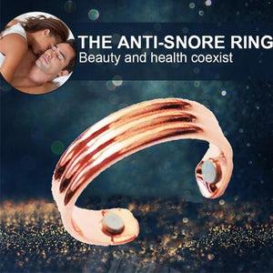 Anti-Snore Resizable Magnetic Ring, Acupressure Treatment and Weight Loss