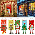 Merry Christmas Porch Door Banner