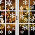 White Snowflake Sticker For Glass Window