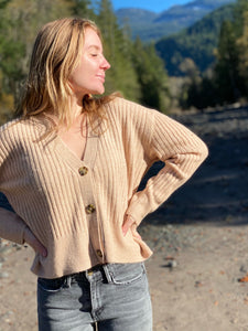 Boxy Cardigan by Dex Clothing