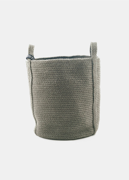 Grey Green Basket - YUYU Sustainable Home Goods