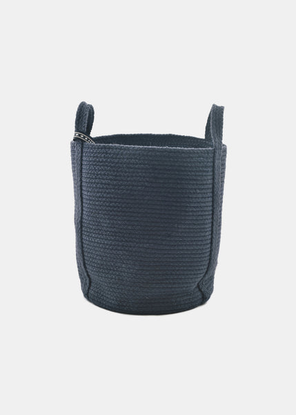 Navy Basket - YUYU Sustainable Home Goods