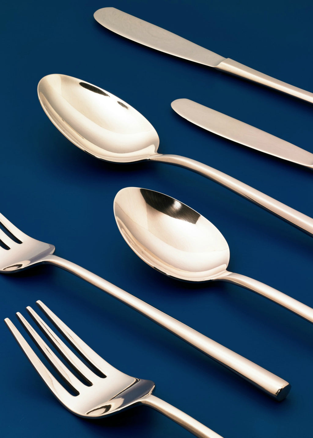 Flatware set round shape - YUYU Sustainable Home Goods