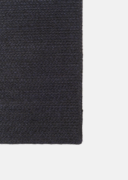 Strong Jute Rug Charcoal/Navy