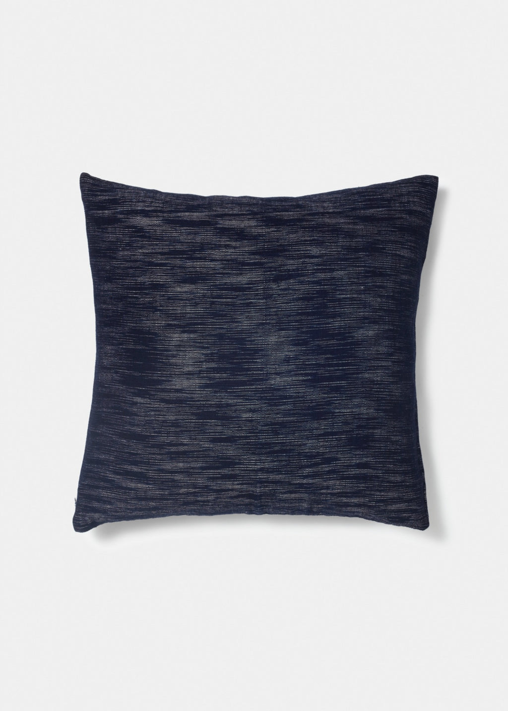 Indigo Pillow Random Ikat - YUYU Sustainable Home Goods