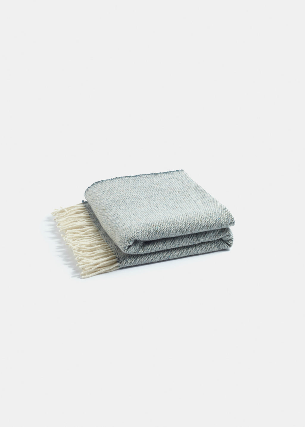 Premium Merino Wool Throw Green - YUYU Sustainable Home Goods