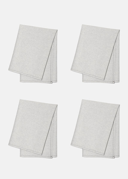 Napkins Grey Denim - Set of 4