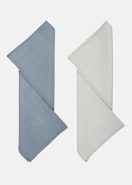 Tea towel Denim & Grey