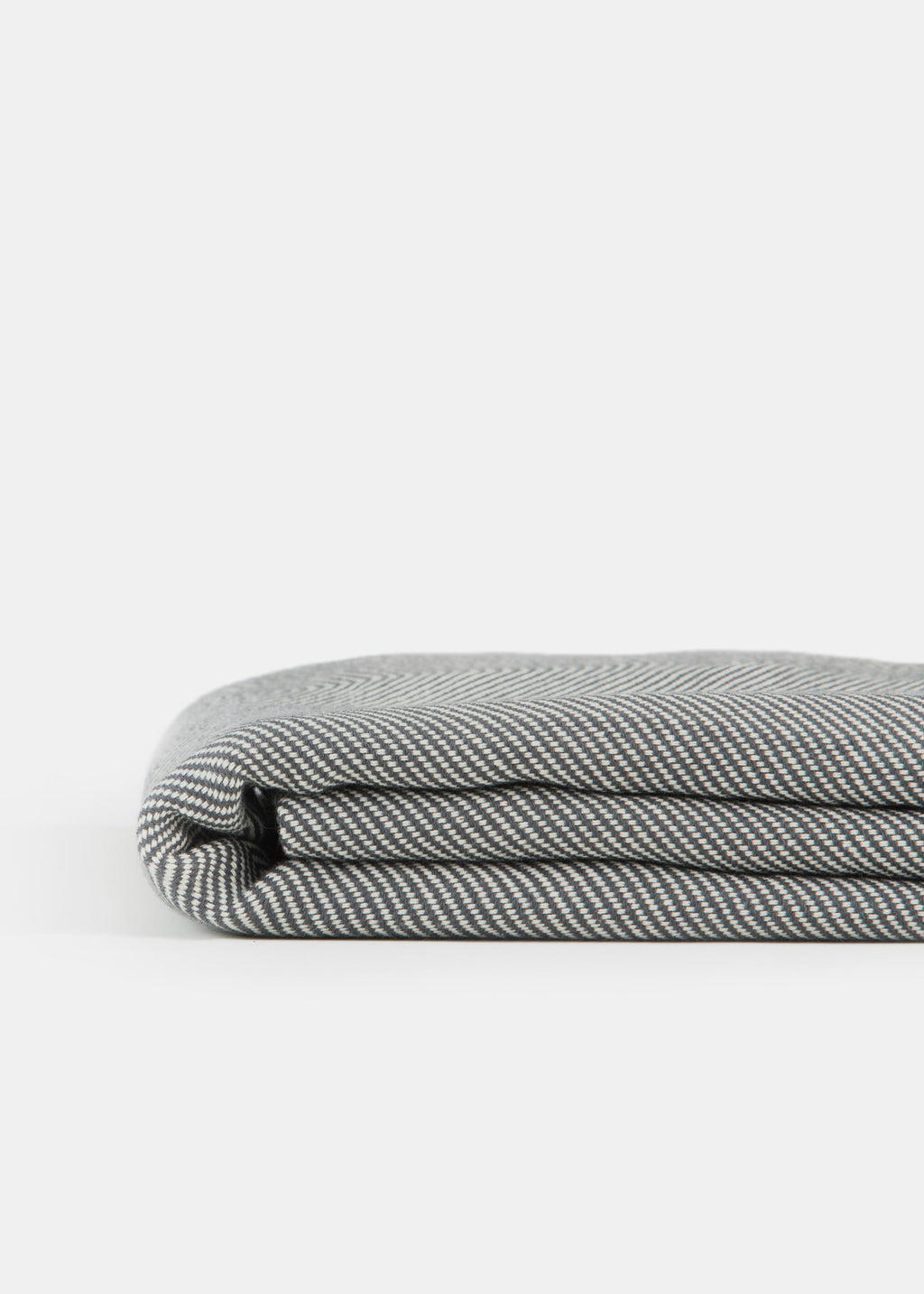 Turkish Towel Pattern Charcoal - YUYU Sustainable Home Goods
