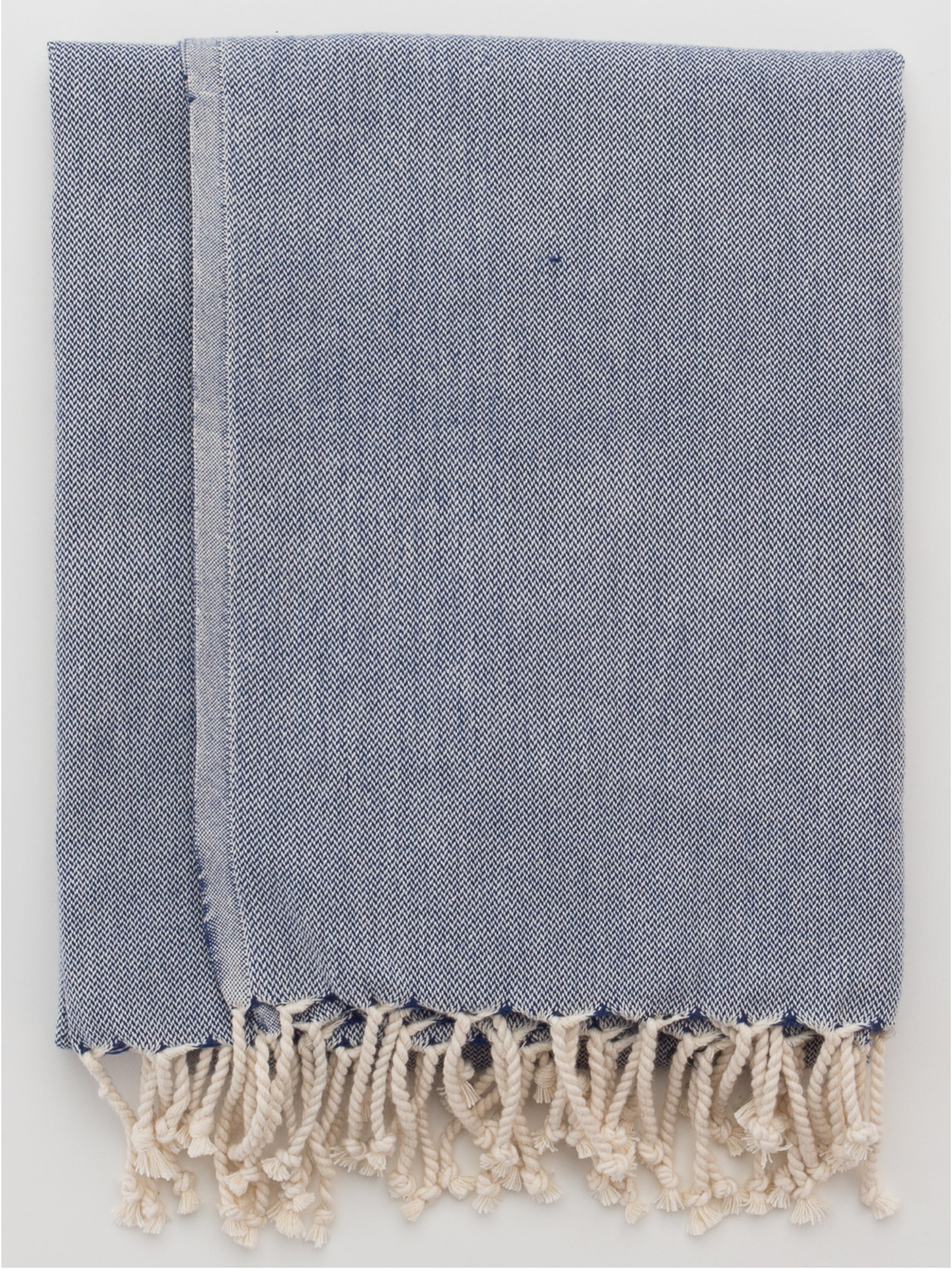 Turkish Towel Navy Melange