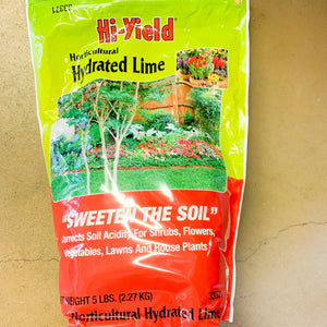 HiYield Hydrated Lime