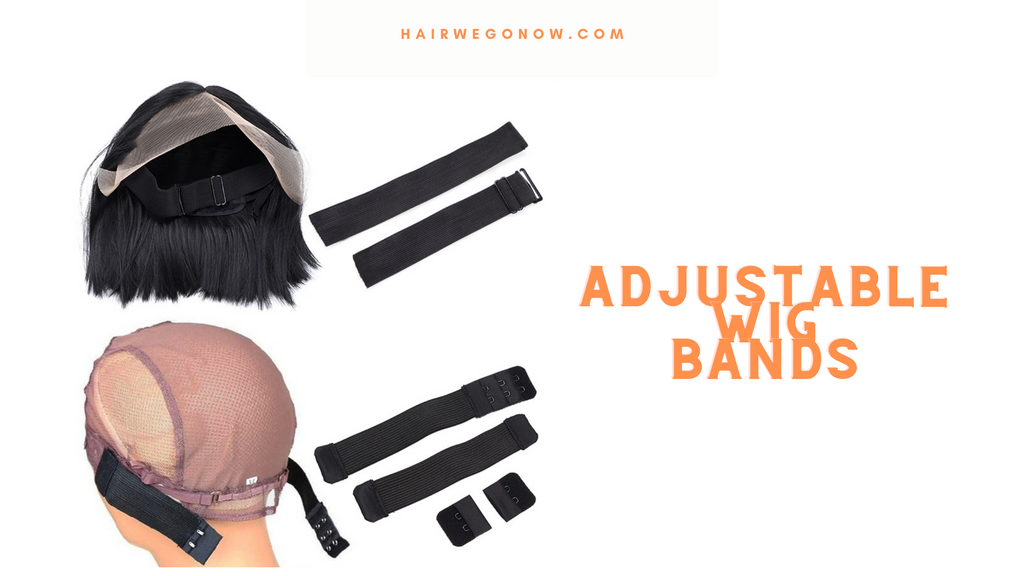 Adjustable Wig Bands help to hold the wig down