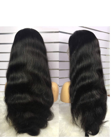 360 Lace Frontal Wig Body Wave Brazilian Human Hair