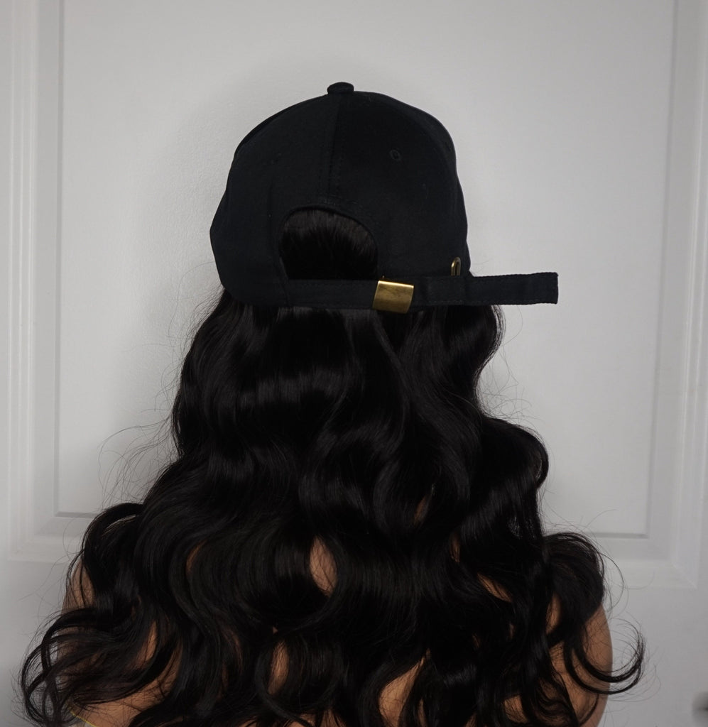 HAIRwegoNOW's Hat Wig - Made with 100% Virgin Body Wave Hair