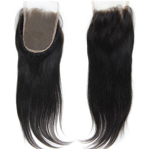 Virgin Straight Lace Closure