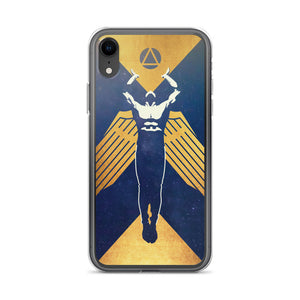 Gold Propaganda iPhone Case