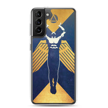 Load image into Gallery viewer, Gold Propaganda Samsung Phone Case