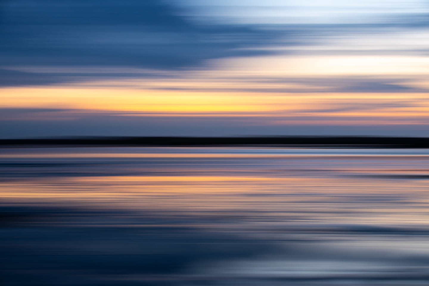 Stokksnes Sunset Abstract